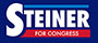 Max Steiner for Congress Logo